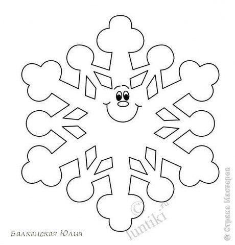 Moldes Para Hacer Copos De Nieve Con Papel
