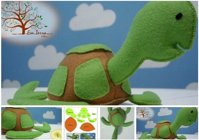 molde para hacer tortuga de fieltro04