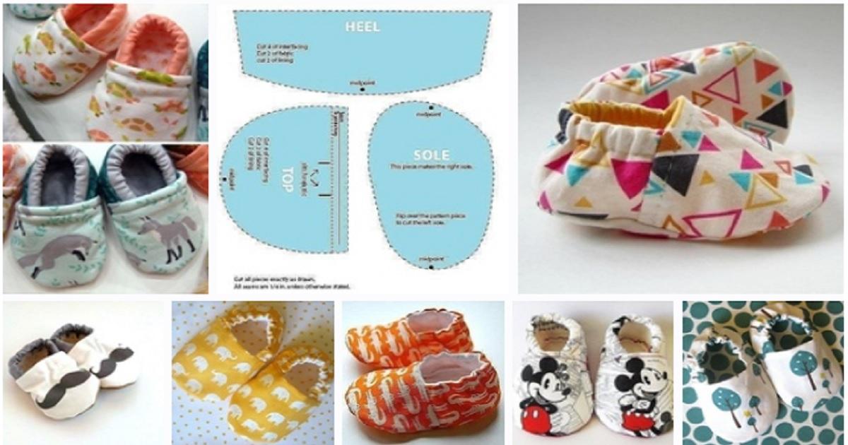 Molde de zapatos para niños11