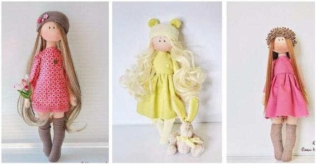 Moldes para hacer muñecas