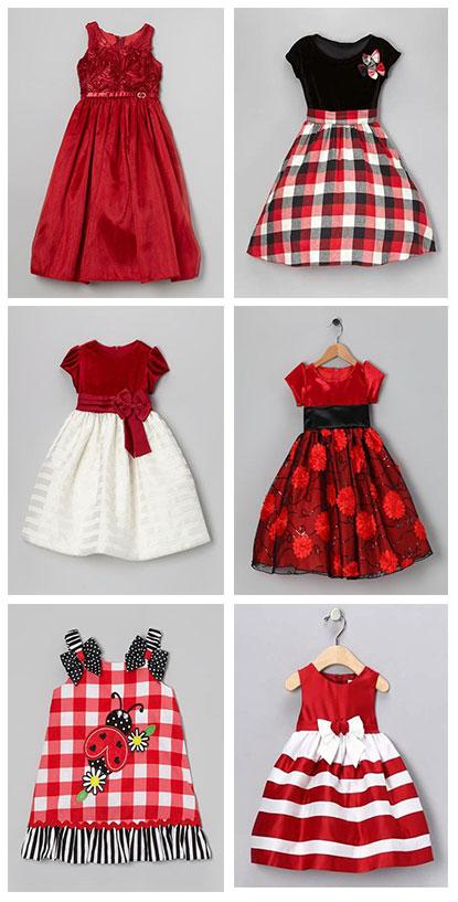 Vestidos-de-color-rojo-para-niña