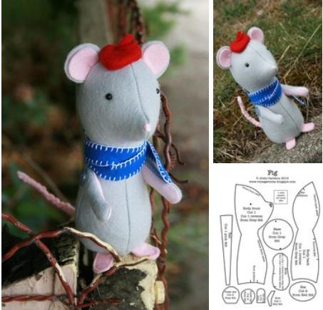 molde de un raton