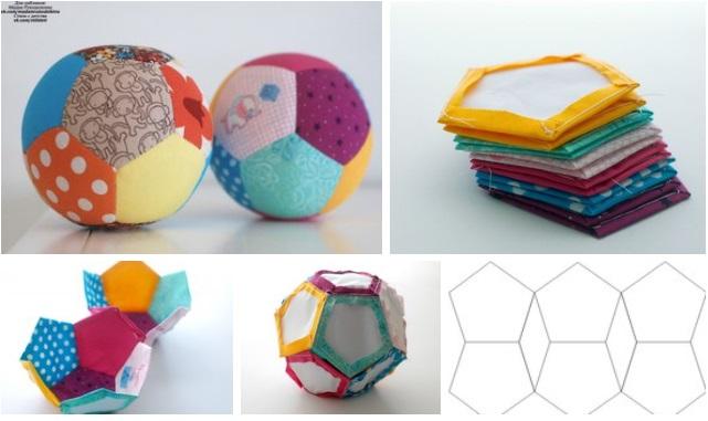 molde para hacer pelota de tela