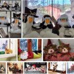 9 ideas para hacer guardapolvos navidenos