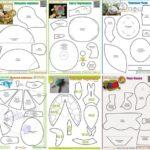 6 moldes de tortugas para imprimir