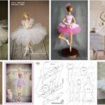 molde bailarina de ballet