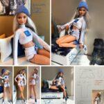 patrones para hacer ropa deportiva para barbie