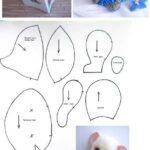 patrones para hacer un ratoncito