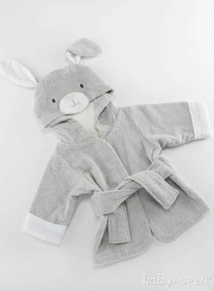 bata de toalla conejo