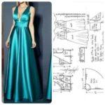 Moldes de vestidos largos sencillos que puedes realizar en casa